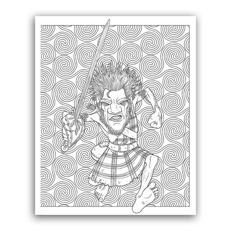 octarine coloring pages | The Discworld Colouring Book - Discworld Emporium