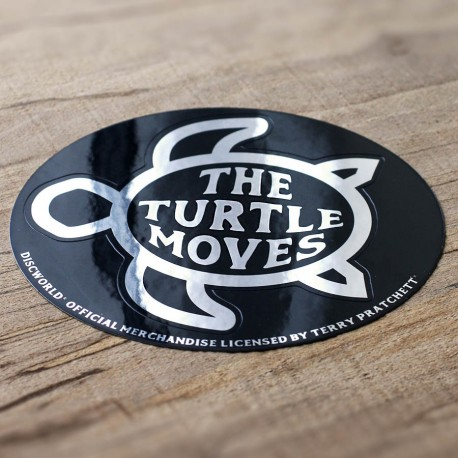The Turtle Moves Sticker