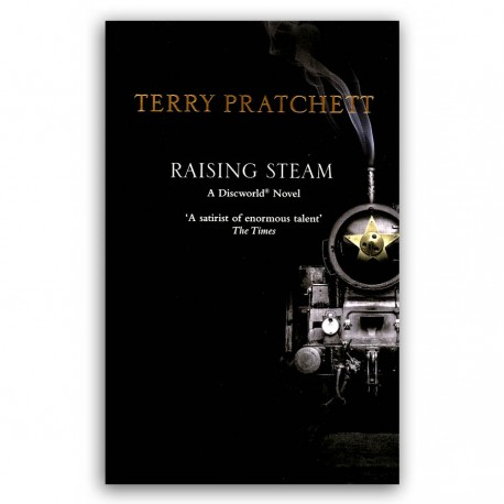 Raising Steam (black cover paperback)