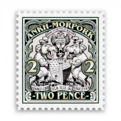 Ankh-Morpork Coat of Arms 2p (Year of the Backwards Facing Artichoke)