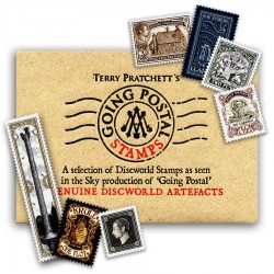 Going Postal Stamp Set