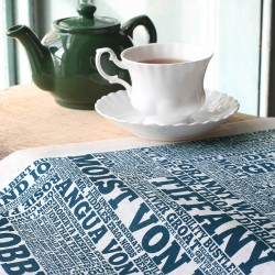 Discworld: A Cast of Thousands! Tea Towel