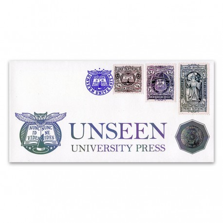 Unseen University First Day Cover