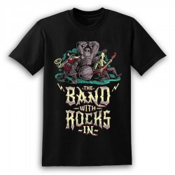 The Band With Rocks In T-Shirt