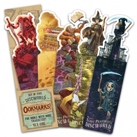 Discworld Ookmarks - Set One