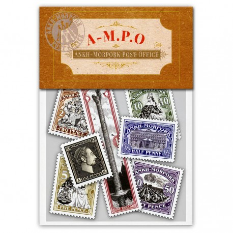 Ankh-Morpork Post Office Stamp Set (Year of the Incontrovertible Skunk)