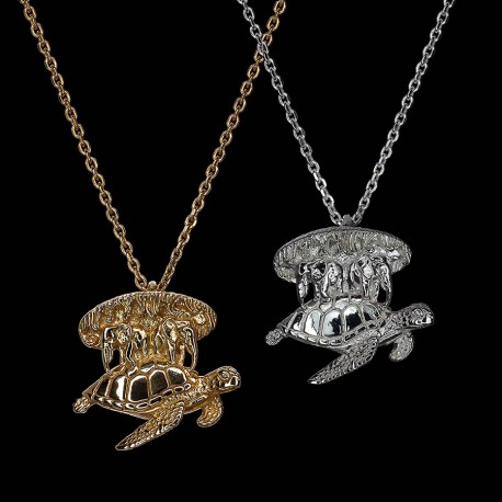 The Great A'Tuin Necklace