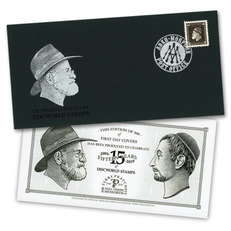 Going Postal 15th Anniversary Minisheet