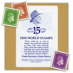 The Discworld Stamps 15th Anniversary LBE