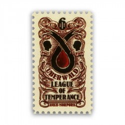Uberwald League of Temperance Sixpence