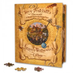 Granny Weatherwax's Cottage Jigsaw Puzzle