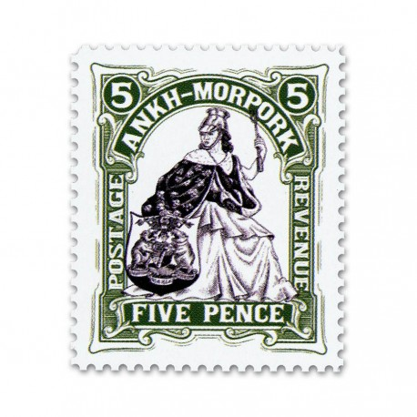 Morporkia Five Pence (Year of the Condescending Carp)