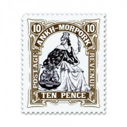 Morporkia Ten Pence (Year of the Condescending Carp)