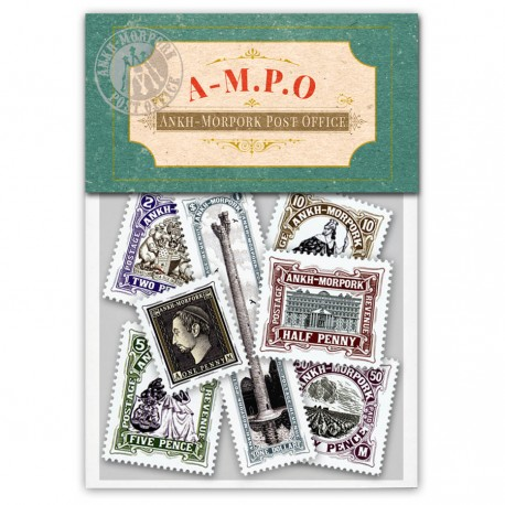 Ankh-Morpork Post Office Stamp Set (Year of the Condescending Carp)