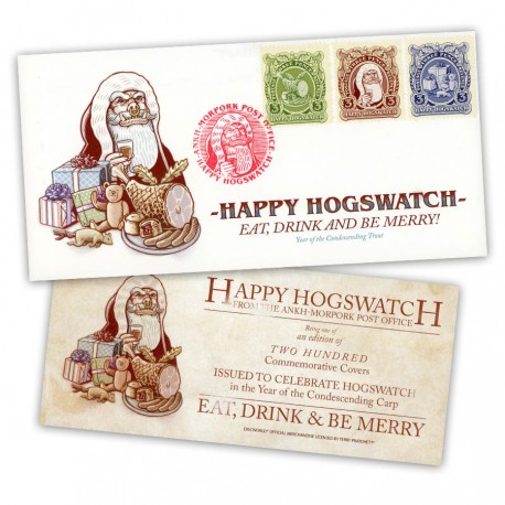 Hogswatch First Day Cover