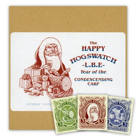 The 'Happy Hogswatch' LBE