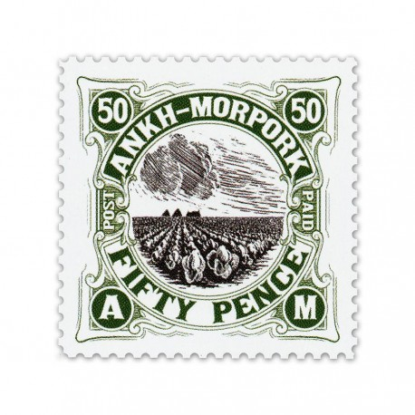 Cabbage Field Fifty Pence (Year of the Beleaguered Badger)