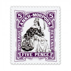 Morporkia Five Pence (Year of the Beleaguered Badger)