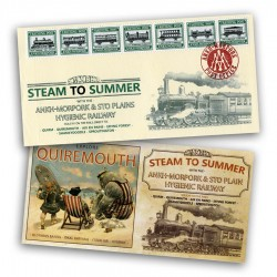 The Steam to Summer First Day Cover