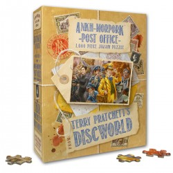 The Ankh-Morpork Post Office Jigsaw Puzzle