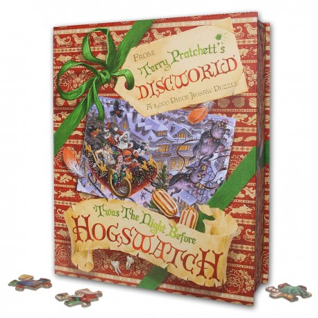 'Twas the Night Before Hogswatch Jigsaw Puzzle