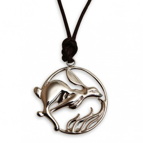 Hare Though Flame Necklace
