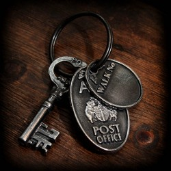 Ankh-Morpork Post Office keyring
