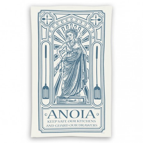 Goddess Anoia Tea Towel