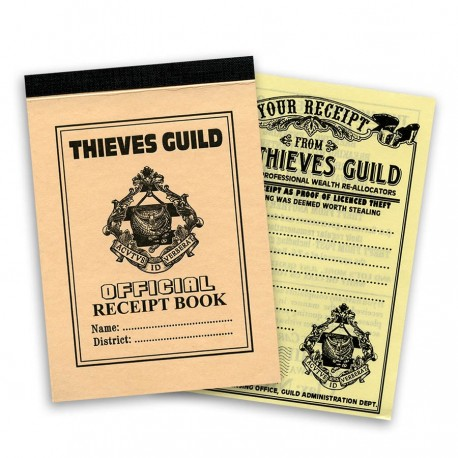Thieves' Guild Receipt Book