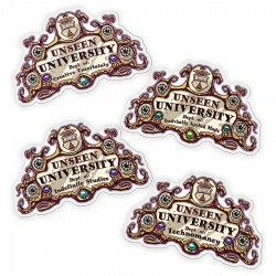 Unseen University Stickers