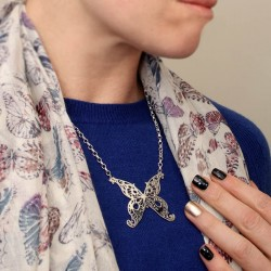 The Quantum Weather Butterfly necklace