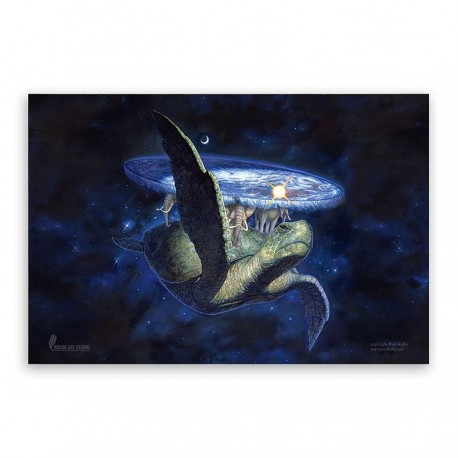 Great A'Tuin Game Mat