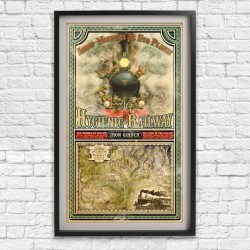 Raising Steam Poster Print