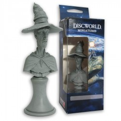 Rincewind Bust - Unpainted