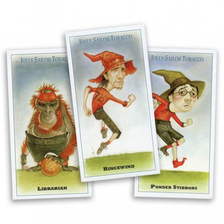 Unseen Academicals Foot-the-ball Cards