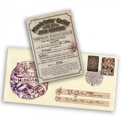 Musicians' Guild First Day Cover