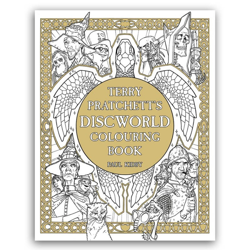The Discworld Colouring Book Paul Kidby Terry Pratchett