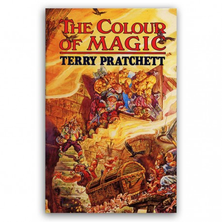 The Colour of Magic 2nd edition | Terry Pratchett Books | Discworld